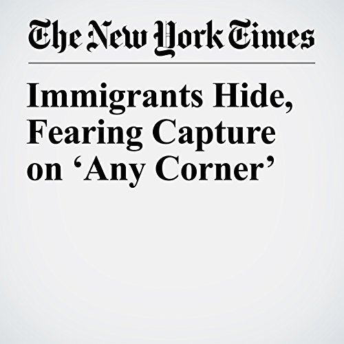 Immigrants Hide, Fearing Capture on 'Any Corner' copertina