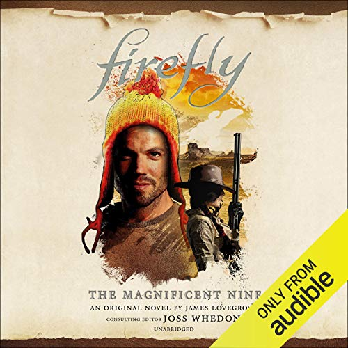 Firefly: Magnificent Nine audiobook cover art