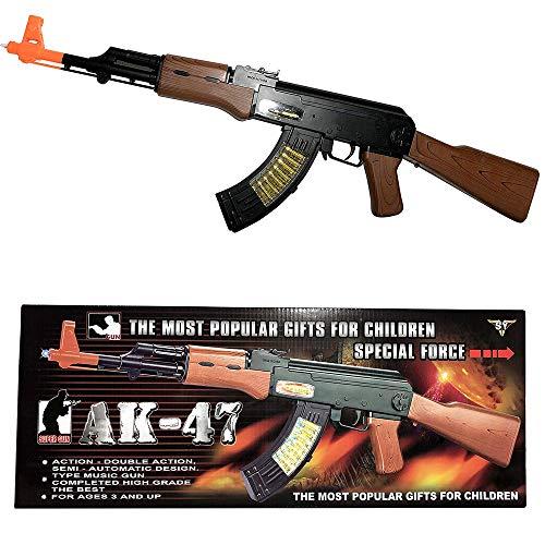 Unbranded Plastic 20 Inch Gangster Gun Toy Machine Gun 18183 Thompson