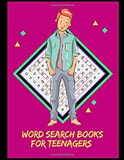 Word Search Books For Teenagers: Word Search Puzzle Book For Kids