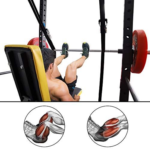 J Bryant Fitness Hack Squat Leg Press Machine for Home Use Leg Press Attachment for Power Rack and Weight Bench Home Gym Glutes Hams Exercise Healthy Machine DIY Strength Fitness Equipment