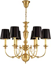 Nordic Chandelier Personality Modern Minimalist Light Luxury Atmosphere Living Room Bedroom Chandelier (Color : Chandelier A)