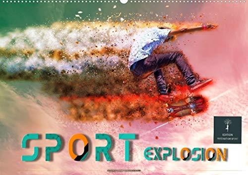 Sport Explosion (Wandkalender 2021 DIN A2 quer)
