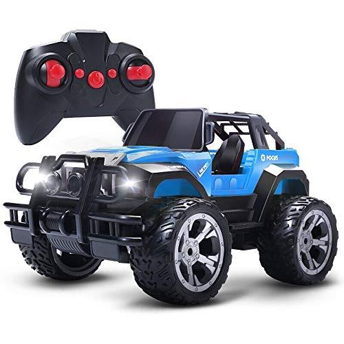 Tastak Coche de Control Remoto, Juguetes de vehículos de automóviles RC, automóvil de Control de Radio con batería Recargable Durante 20 Minutos, Excelentes Regalos para niños y niña