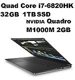 Dell Precision 5000 M5510 Mobile Workstation: Intel Quad Core i7-6820HK 2.7GHz | 1TB SSD | 32GB | 15.6in (1920x1080) FHD | NVIDIA Quadro M1000M 2GB Graphics - Windows 10 Pro (Renewed)