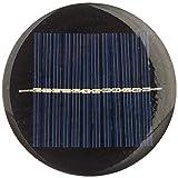 Nuzamas, set di 6 mini celle a pannello solare 6 V 80 mm per energia solare, fai da te casa, giardino, progetti scientifici – Giocattoli – Caricabatteria