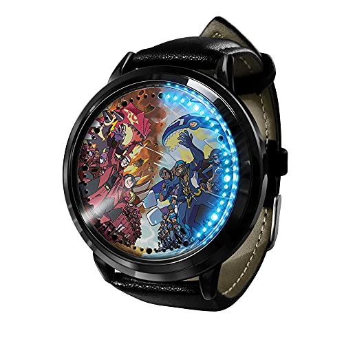 Pokemon Cosplay Relojes de Pulsera Anime Pikachu Reloj LED Pantalla táctil Impermeable Reloj de luz Digital Reloj de Pulsera Unisex Cosplay Accesorios Regalo