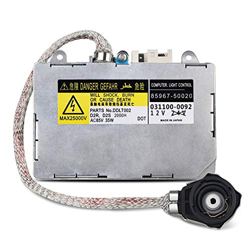 WMPHE Compatible with HID Ballast with Ignitor Toyota Prius, Avalon, Sienna, Lexus ES300, ES330, LS430, Lincoln Aviator Replaces 81107-2D020, 85967-0E020, DDLT002, KDLT002