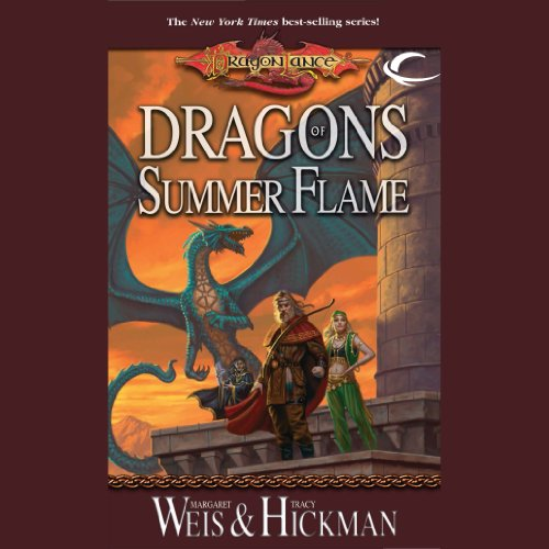 Dragons of Summer Flame audiobook cover art