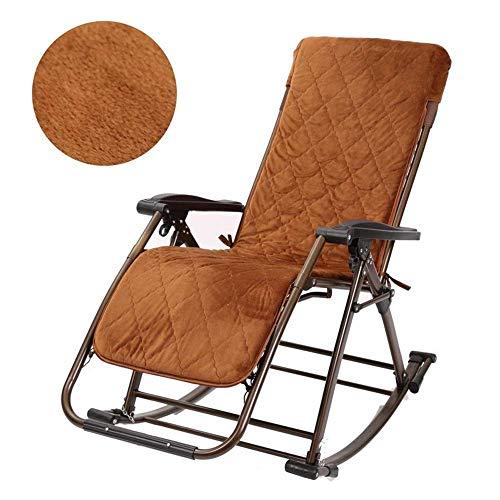 XUE - Sillas mecedoras de patio reclinables plegable para personas pesadas al aire libre, jardín, playa, camping, silla portátil, soporte de 200 kg
