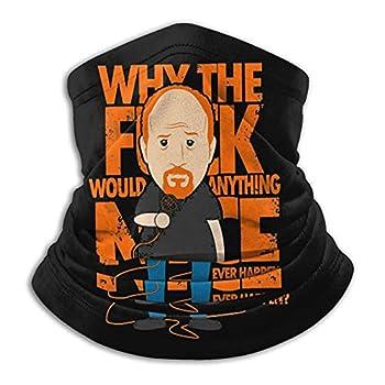 Why Would Anything Nice Ever Happen Unisex Neck Gaiter Mask Bandana Headwear Balaclava Magic Scarf Black