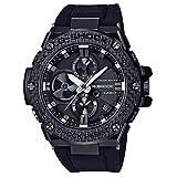 Casio G-Shock G-Steel - Reloj de pulsera para hombre, color negro, carbono y resina, Bluetooth, GSTB100X-1A