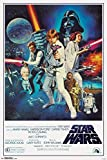 Trends International Star Wars A New Hope One Sheet Movie Poster 24x36