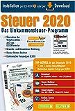 Steuersoftware Steuer 2020 DISCOUNTER CD Steuererklärung Steuerprogramm Einkommensteuer 2020 Einkommensteuererklärung ELSTER, Freiberufler, Arbeitnehmer Steuererklärung Aldi