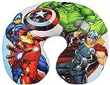 Marvel Avengers Nackenkissen Reisekissen für Kinder, Superhelden Thor, Hulk, Captain America und...