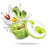 Best Salad Spinners - AnGeer Salad Spinner Large Multifunction 4.5 Quart Design Review