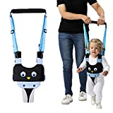 walking harness - Handheld Baby Walking Harness for Kids, Adjustable Toddler Walking Assistant with Detachable Crotch, Safe Standing & Walk Learning Helper for 8+ Months Baby (Blue-Penguin)