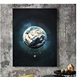 A&D Planet Erde Jupiter Mercury Uranus Mars Nordic Poster