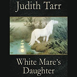 White Mare's Daughter audiobook cover art