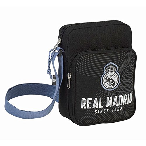 SAFTA Bandolera Real Madrid Black