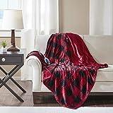 True North by Sleep Philosophy Buffalo Plaid Electric Blanket Throw Ultra Soft Plush Auto Shut Off...