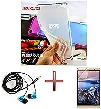 Junsi TPU Gel Soft Case Cover +Film +Headphone F 7