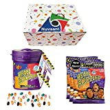 Jelly Belly BeanBoozled Mystery Bean Jelly Bean Dispenser   5th (Latest) Edition 3.5-oz   Bean Boozled Jelly Beans 3 Refills of 1.9 oz   Nice and Weird Tasting Flavors in Nuvaani Gift Box