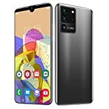 6.1in Full Screen Dual Card Face ID Smartphone,Front Camera 200W + Back Camera 500W,Fingerprint Unlocked Fast and Secure,5-Point Touching Screen,Support for Android 10.0,with 128G Memory Card