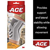 ACE Knitted Knee Brace with Side Stabilizers, Small, America's Most Trusted Brand of Braces and...