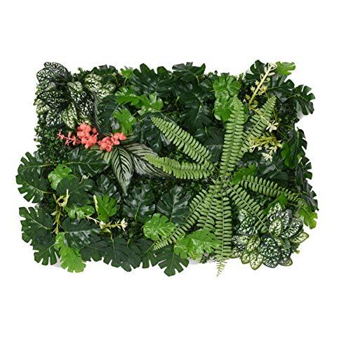 Panneaux De Plantes Artificielles, Mur Gazon Artificiel, Panneau Plante Artificielle Murale, Haie Artificielle Le Mur Vegetal Interieur Artificiel, Pour Mariage Ou Decoration Interieure DIY Pelouse