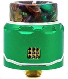 asMODus C4 LP Single Coil RDA 電子タバコ アトマイザー アスモダス C4LP ASMODUS製 24mm シングルドリッパー (Green)
