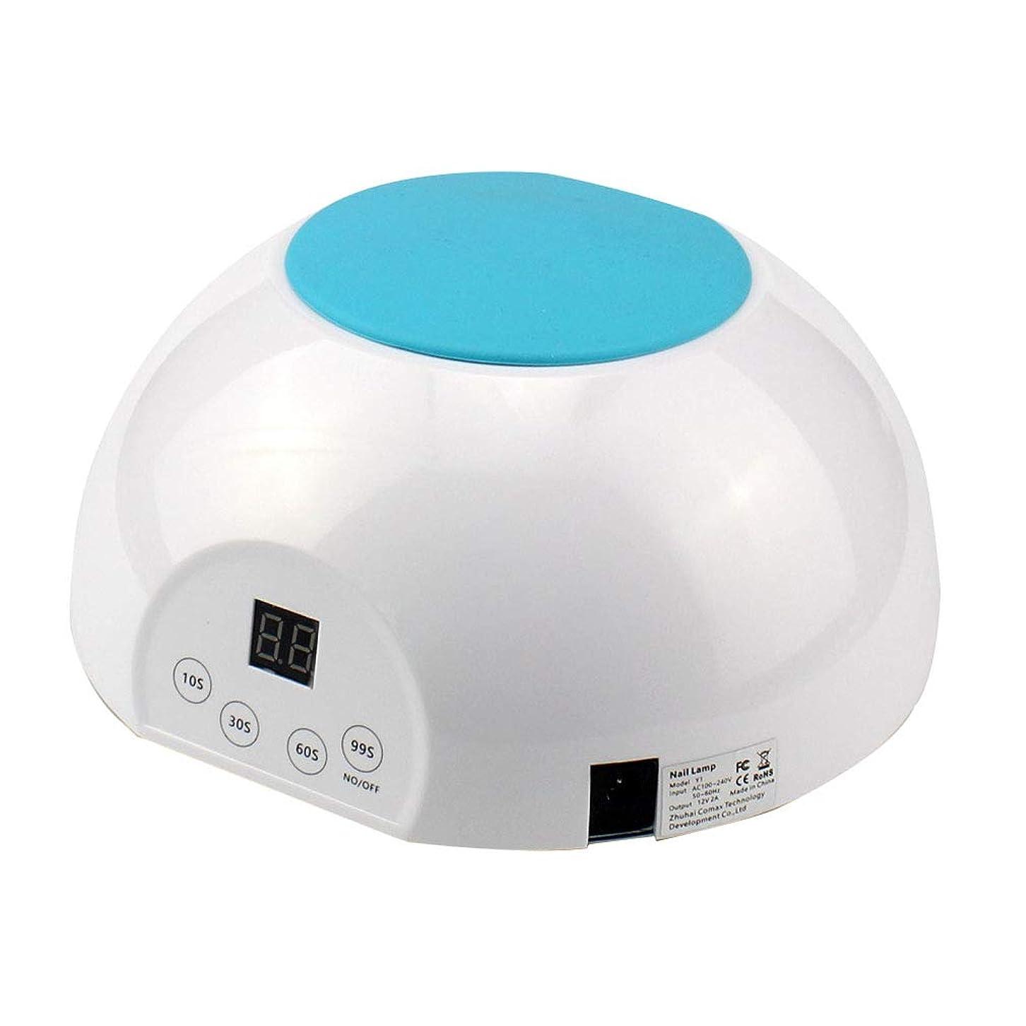 準備ができて時代遅れアレルギー36W UV LEDランプネイルドライヤー、ジェルネイルポリッシュシェラック、取り外し可能な磁性プレート、30秒/ 60秒時間設定、99秒低熱