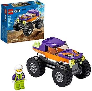 50-Piece LEGO City Monster Truck Building Playset