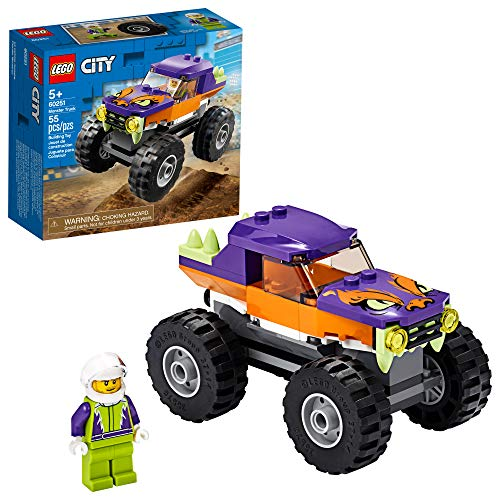 55-Piece LEGO City Monster Truck Building Set $7.20 at Amazon