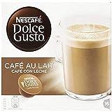 Nescaf Dolce Gusto - Caf Con Leche - Cpsulas de caf - 16 cpsulas - [set di 3]