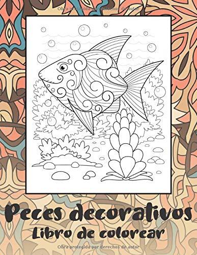 Peces decorativos - Libro de colorear 🐠