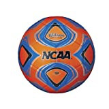 Wilson NCAA Copia Due Soccer Ball, Orange - Size 3