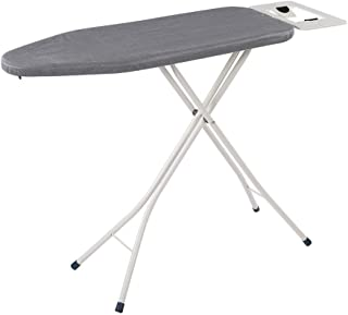 Yosooo 4-Leg Tabletop Ironing Board, Portable Anti-Rust Flame Retardant Ironing Board Folding Table for Home Hotel Laundry Use(Silver)