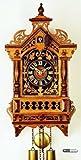 Alemán Reloj réplica Antiguo de 8 días de Movimiento 43,5 cm - Auténtico Reloj de Cuco del Bosque Negro de Rombach & Haas