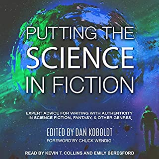 Putting the Science in Fiction audiobook cover art
