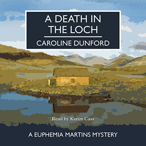 A Death in the Loch audiobook cover art