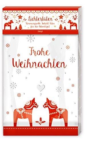 Weihnachtliche Lichtertüten: Stimmungsvolle Teelicht-Tüten für die Adventszeit