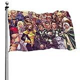 Yaxinduobao X-Men Printed Bandera Garden Balcony House Decoration Bandera