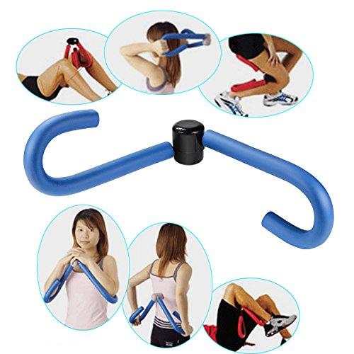 Dengzhu Master Cuisse Exerciseur Thighmaster pour Exercices de Fitness Workout Thighmaster Home Gym Sport Toner Cuisse Master, Bleu