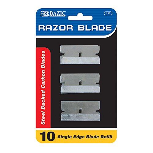 BAZIC Razor Replacement Blade (10/Pack)