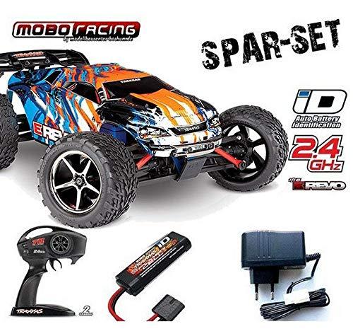 Traxxas 71054-1 E-Revo 1:16 Brushed RTR 2,4GHz 4WD RC-Truggy 230V Lader schwarz*