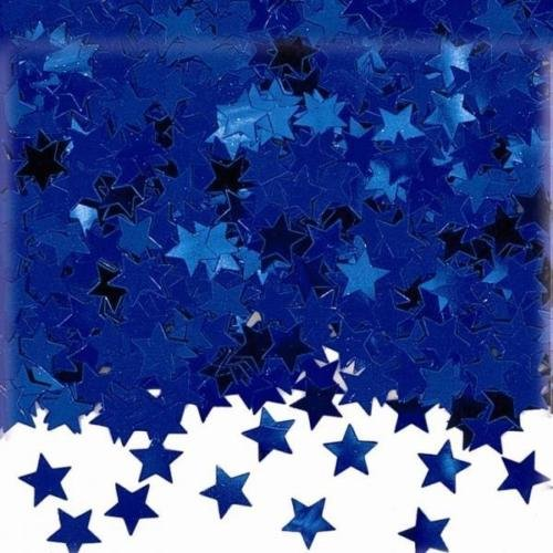 Amscan International Stardust Bleu Étoiles Table Confetti Paillettes 14g