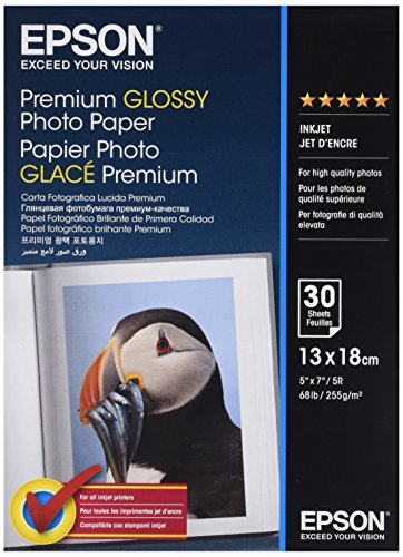 Epson Super Carta Fotografica Lucida, 30 fogli, 13 x 18 cm