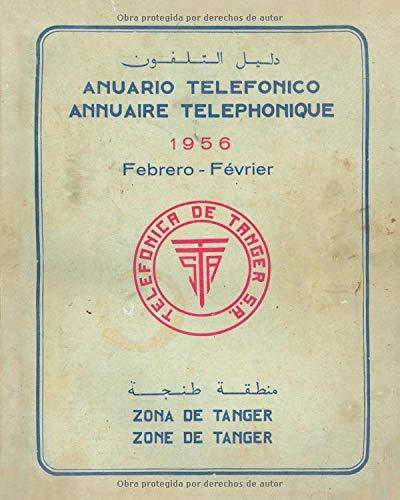 Anuario telefónico Febrero 1956: Zona de Tánger