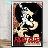 MHHDD Fight Club Poster Brad Pitt Classic Film Leinwand
